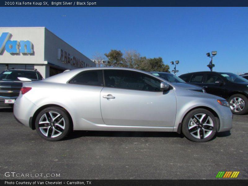2010 Kia Forte Koup Sx In Bright Silver Photo No 57773379 Gtcarlot Com