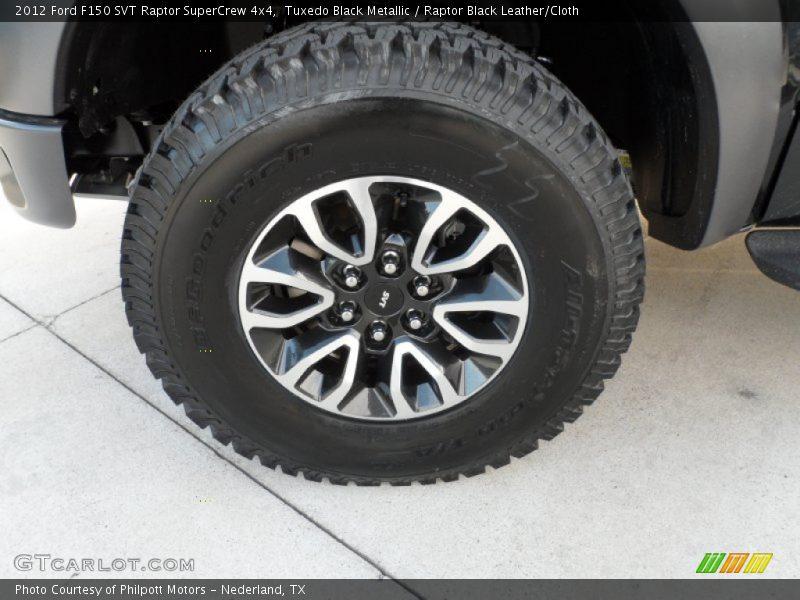 2012 F150 SVT Raptor SuperCrew 4x4 Wheel