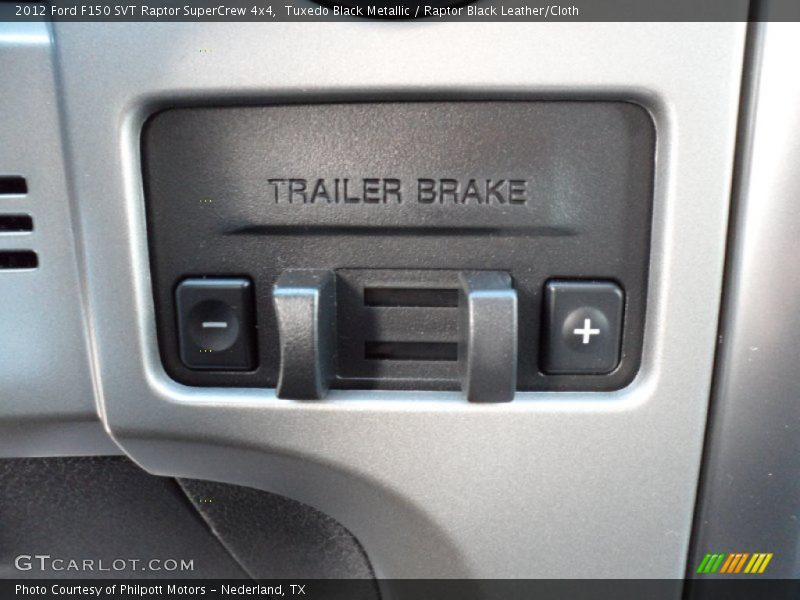 Trailer Brake Controller - 2012 Ford F150 SVT Raptor SuperCrew 4x4