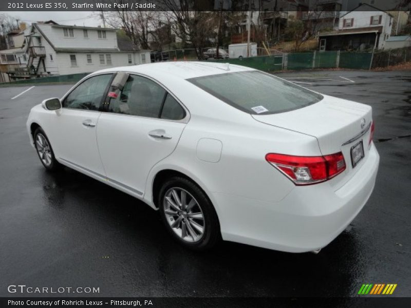 2012 Lexus Es 350 In Starfire White Pearl Photo No
