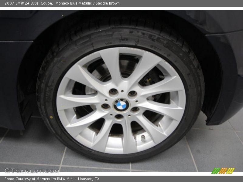 2007 Z4 3 0si Coupe Wheel Photo No 58502665 Gtcarlot Com