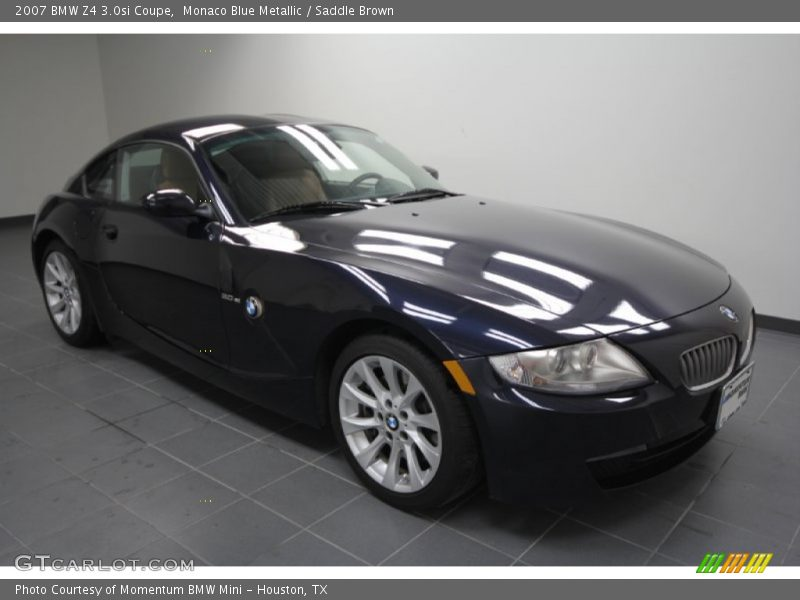 2007 Bmw Z4 3 0si Coupe In Monaco Blue Metallic Photo No 58502704 Gtcarlot Com