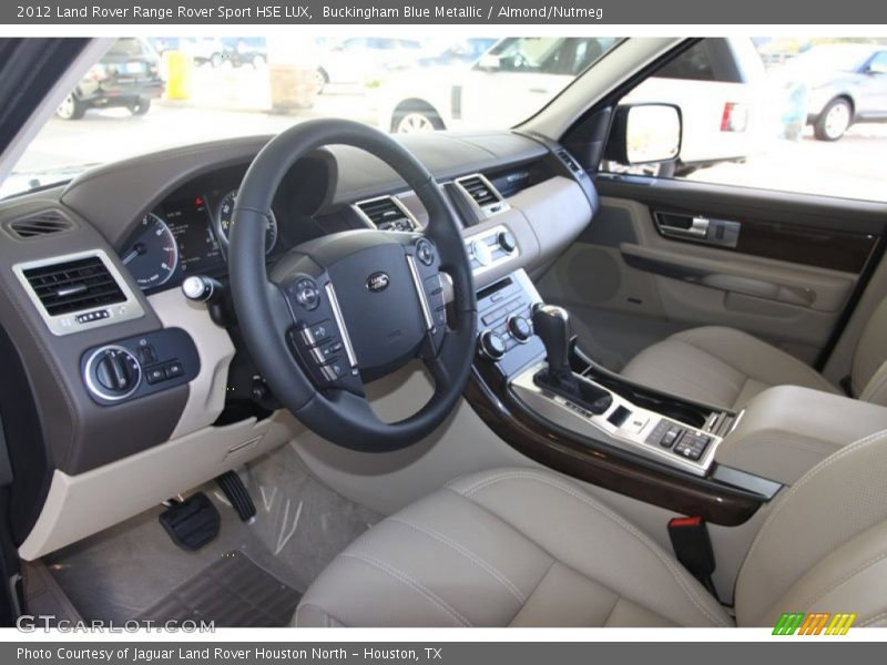 2012 range rover sport hse lux almond nutmeg interior - Range rover sport almond interior ...