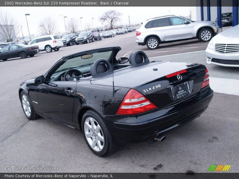 2002 mercedes benz slk 230 kompressor roadster in black photo no 58856461. Black Bedroom Furniture Sets. Home Design Ideas
