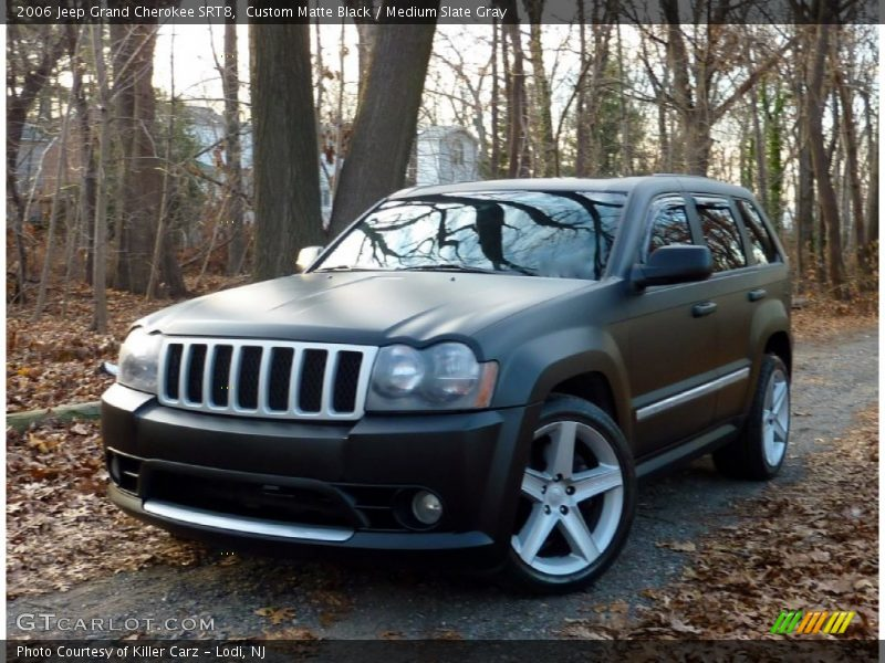 2006 jeep grand cherokee srt8 in custom matte black photo. Black Bedroom Furniture Sets. Home Design Ideas