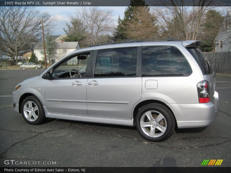 Sunlight Silver Metallic / Gray 2005 Mazda MPV LX