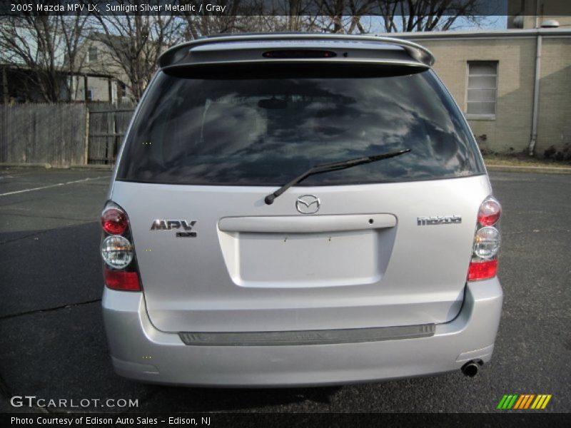 Sunlight Silver Metallic / Gray 2005 Mazda MPV LX