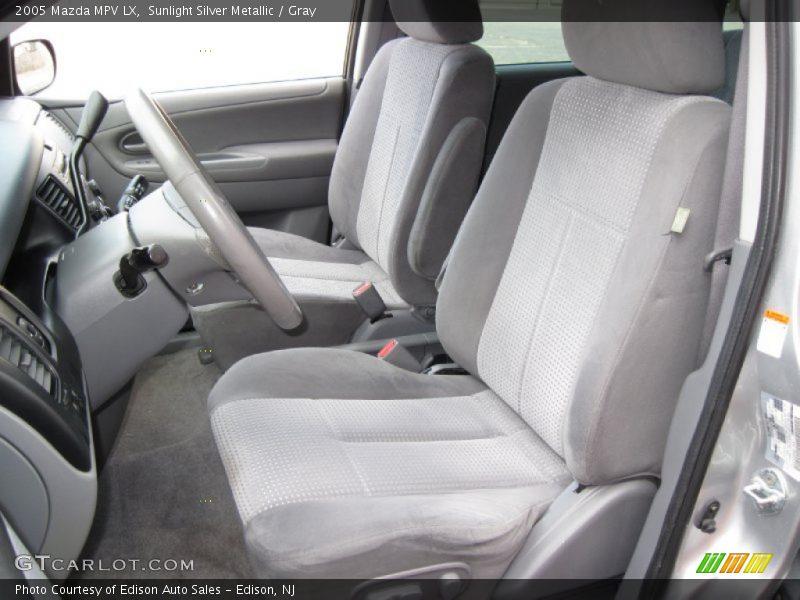 2005 MPV LX Gray Interior