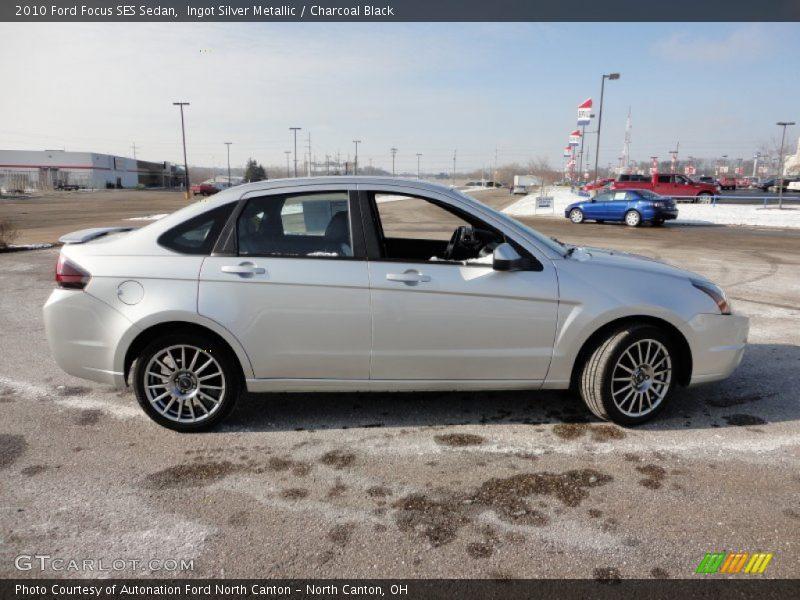 2010 Ford Focus Ses Sedan In Ingot Silver Metallic Photo