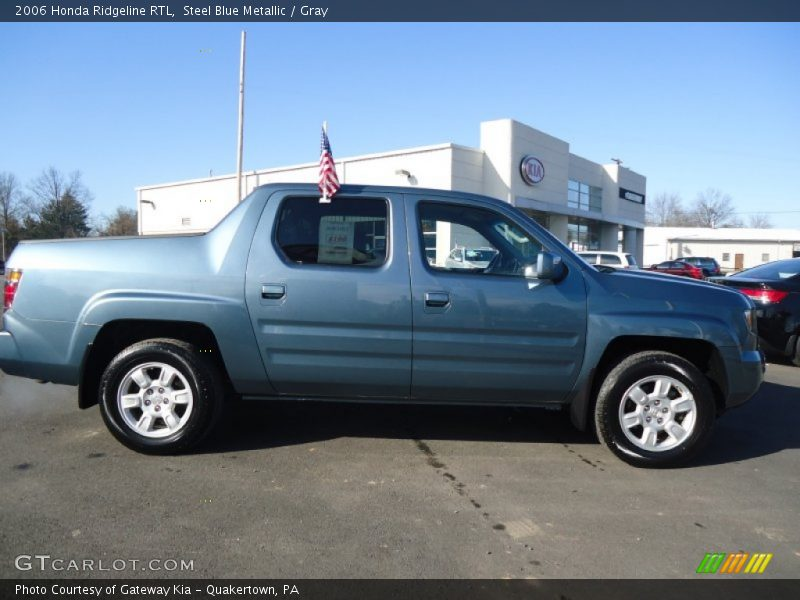 2006 honda ridgeline rtl in steel blue metallic photo no. Black Bedroom Furniture Sets. Home Design Ideas