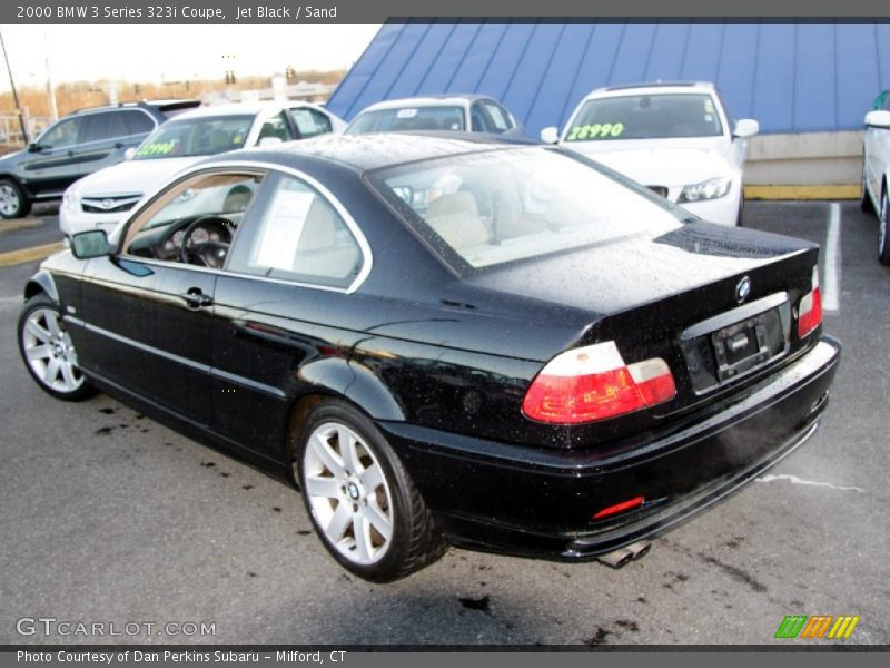 2000 3 Series 323i Coupe Jet Black