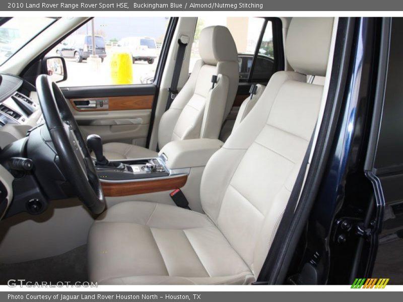 2010 range rover sport hse almond nutmeg stitching - Range rover sport almond interior ...