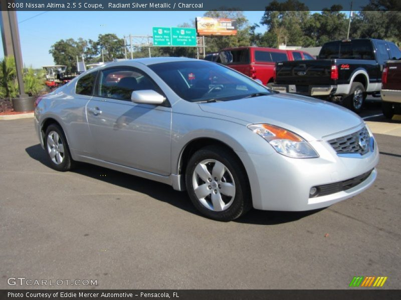 2008 nissan altima 2 5 s coupe in radiant silver metallic photo no 59741843. Black Bedroom Furniture Sets. Home Design Ideas