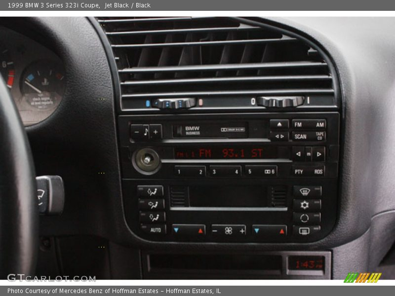 Controls of 1999 3 Series 323i Coupe
