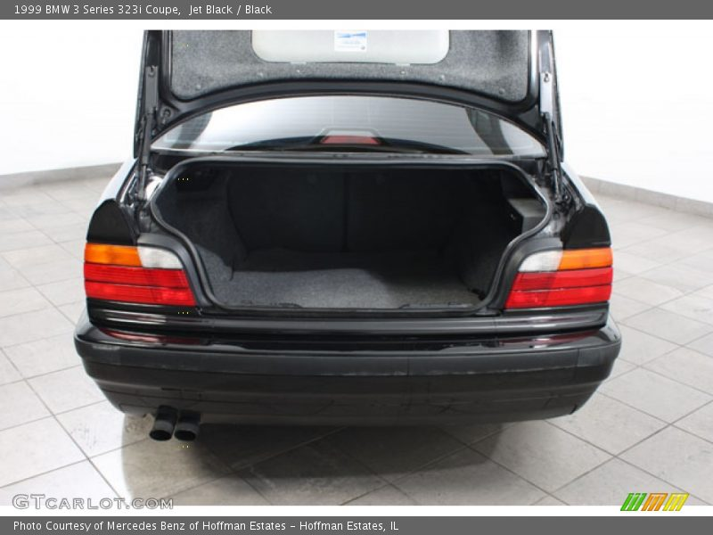 Jet Black / Black 1999 BMW 3 Series 323i Coupe