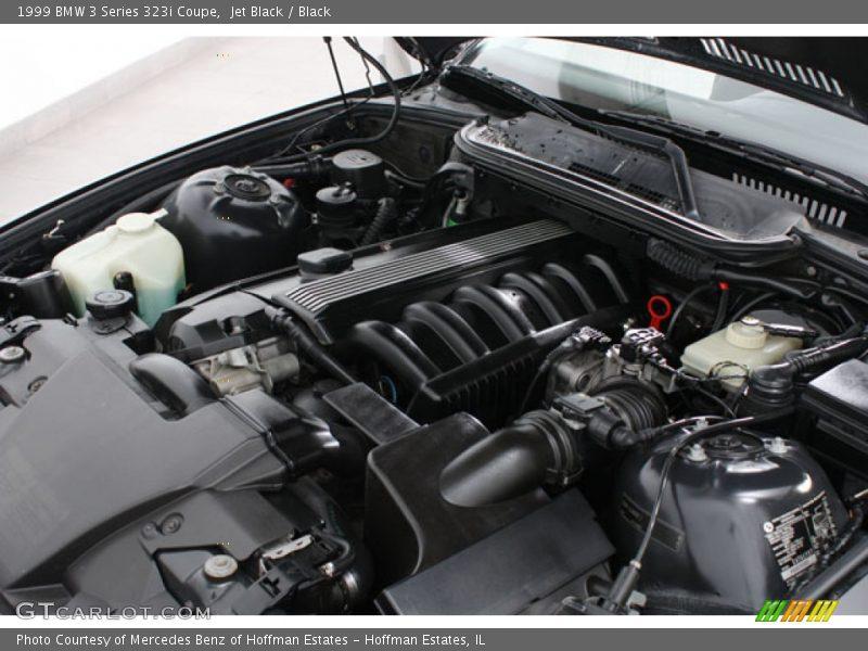 1999 3 Series 323i Coupe Engine - 2.5L DOHC 24V Inline 6 Cylinder