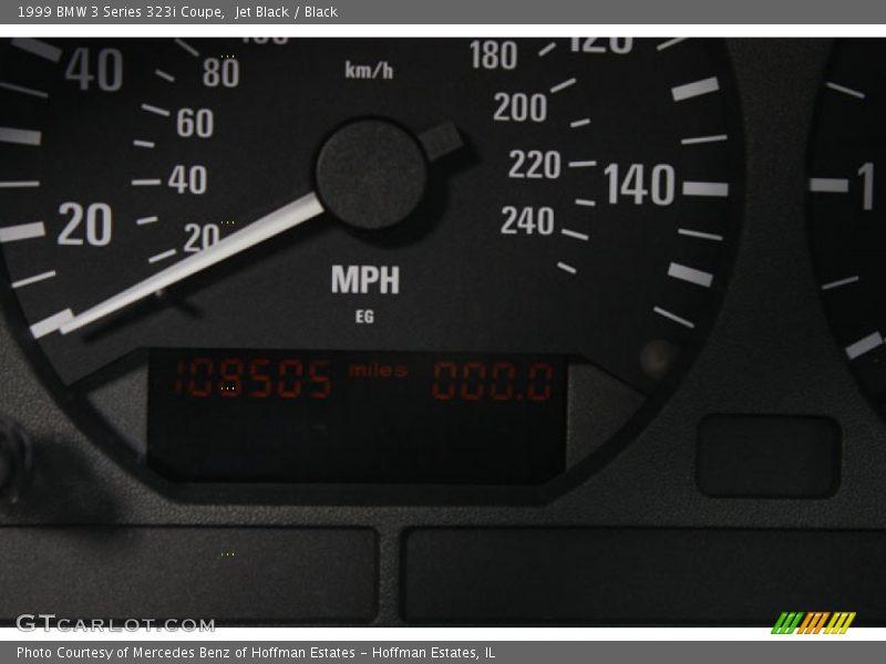 Jet Black / Black 1999 BMW 3 Series 323i Coupe