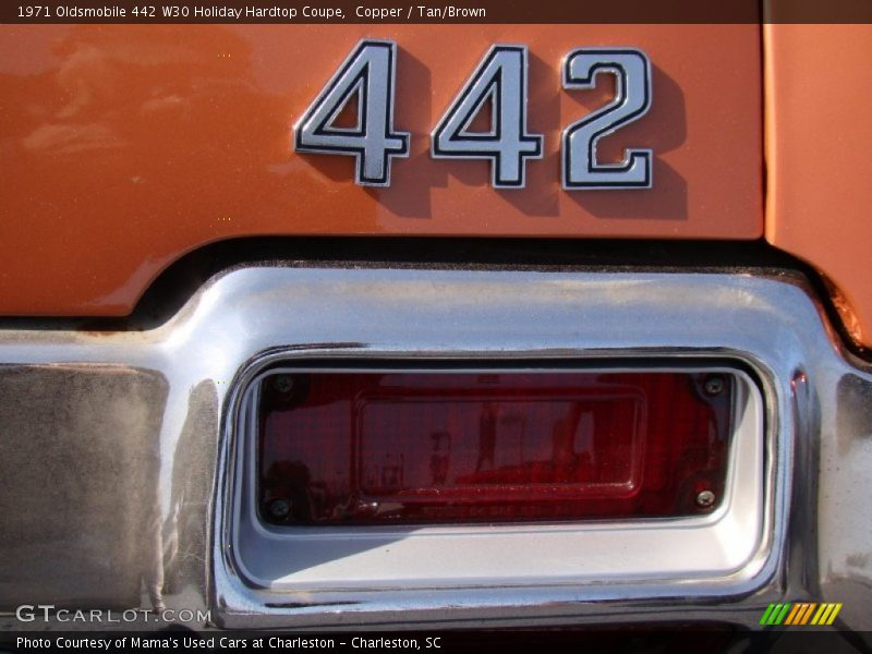 1971 442 W30 Holiday Hardtop Coupe Logo
