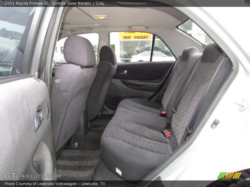 2001 Protege ES Gray Interior