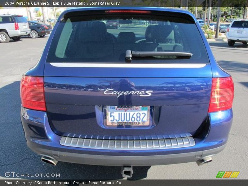 2004 porsche cayenne s in lapis blue metallic photo no for G stone motors used cars
