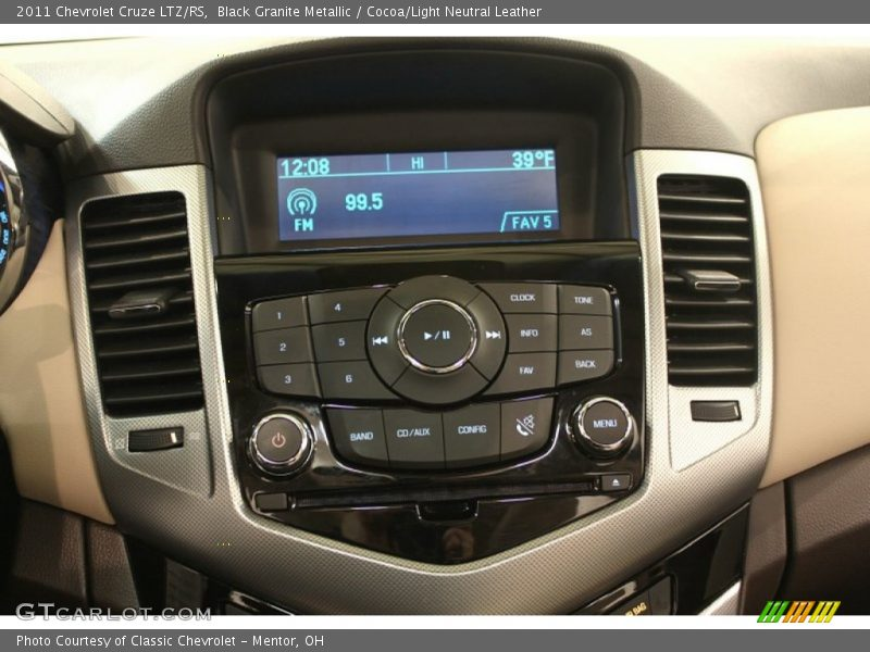 Controls of 2011 Cruze LTZ/RS