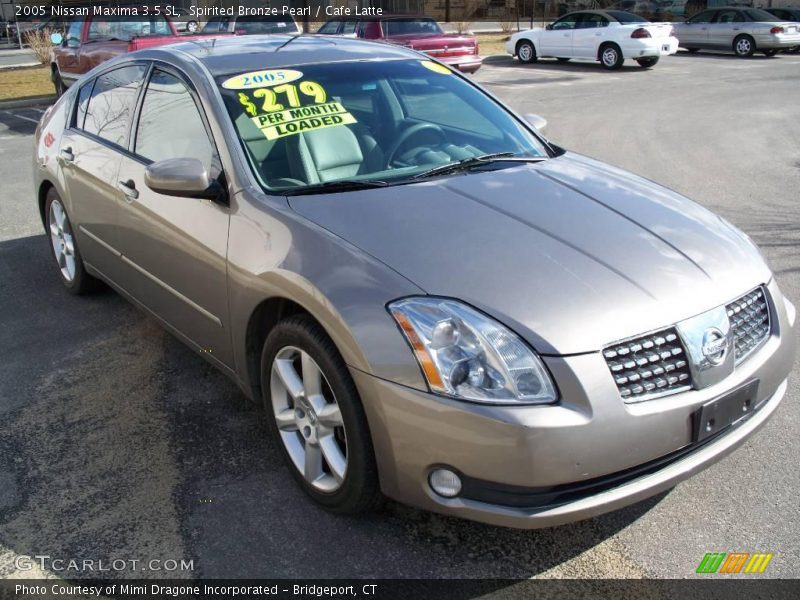 2005 nissan maxima 3 5 sl in spirited bronze pearl photo. Black Bedroom Furniture Sets. Home Design Ideas