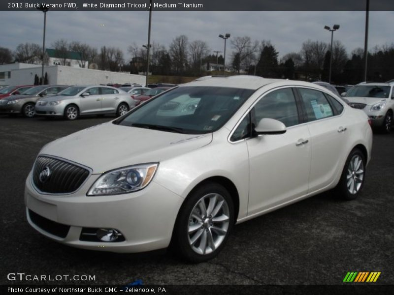 Front 3/4 View of 2012 Verano FWD