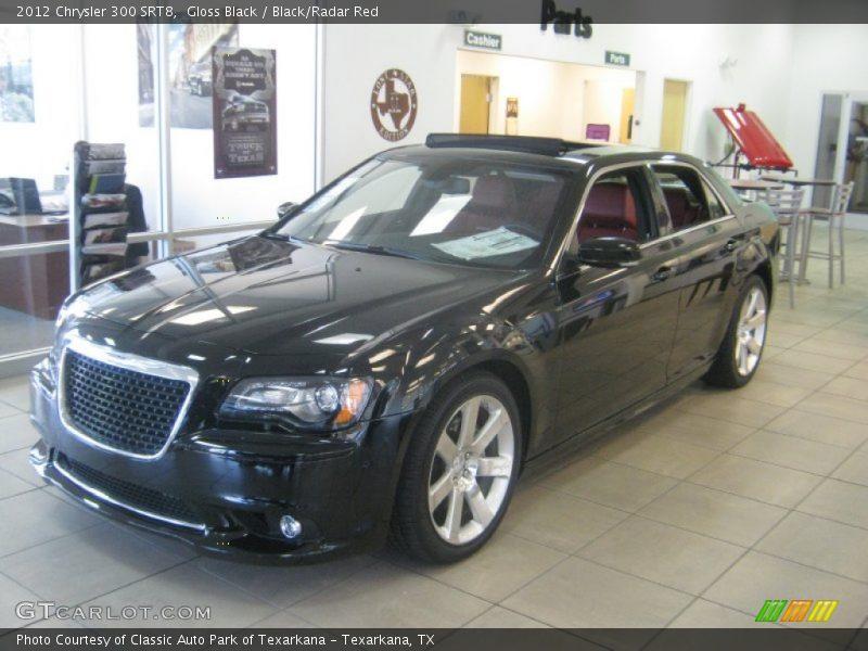 2012 Chrysler 300 Srt8 In Gloss Black Photo No 61469028