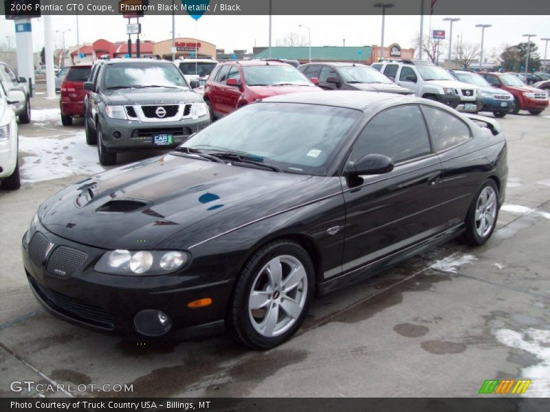 Front 3/4 View of 2006 GTO Coupe