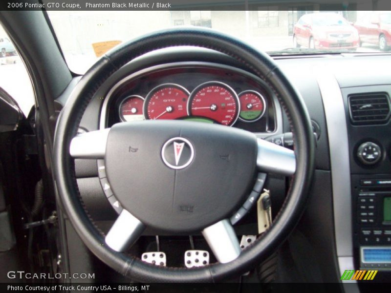 2006 GTO Coupe Steering Wheel