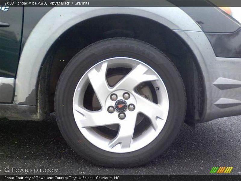 Abyss Black / Graphite 2003 Pontiac Vibe AWD
