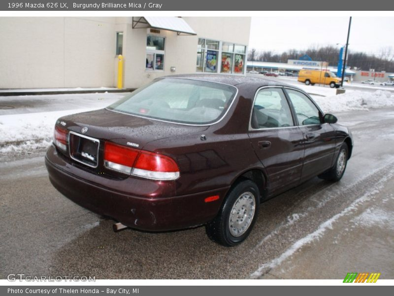 1996 mazda 626 lx in burgundy brilliance mica photo no. Black Bedroom Furniture Sets. Home Design Ideas