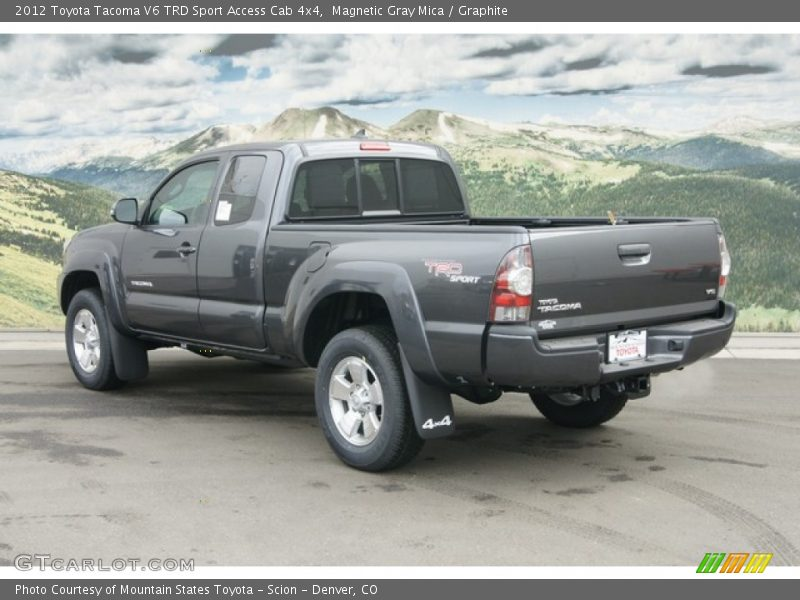 2012 toyota tacoma v6 trd sport access cab 4x4 in magnetic gray mica photo no 61682988. Black Bedroom Furniture Sets. Home Design Ideas