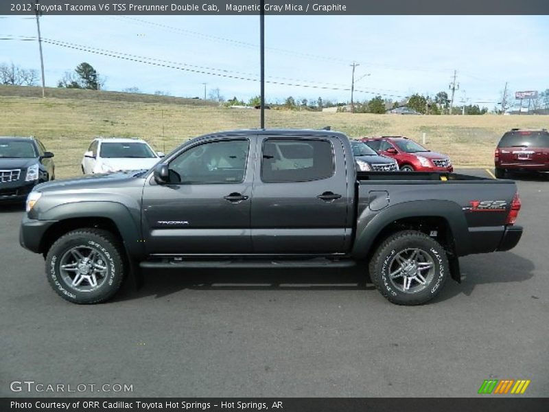 2012 toyota tacoma v6 tss prerunner double cab in magnetic gray mica photo no 62130332. Black Bedroom Furniture Sets. Home Design Ideas