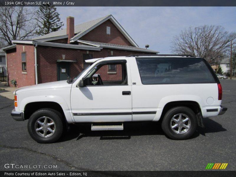 1994 Yukon SLE 4x4 White