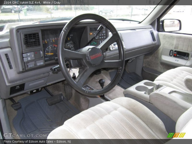 1994 Yukon SLE 4x4 Gray Interior
