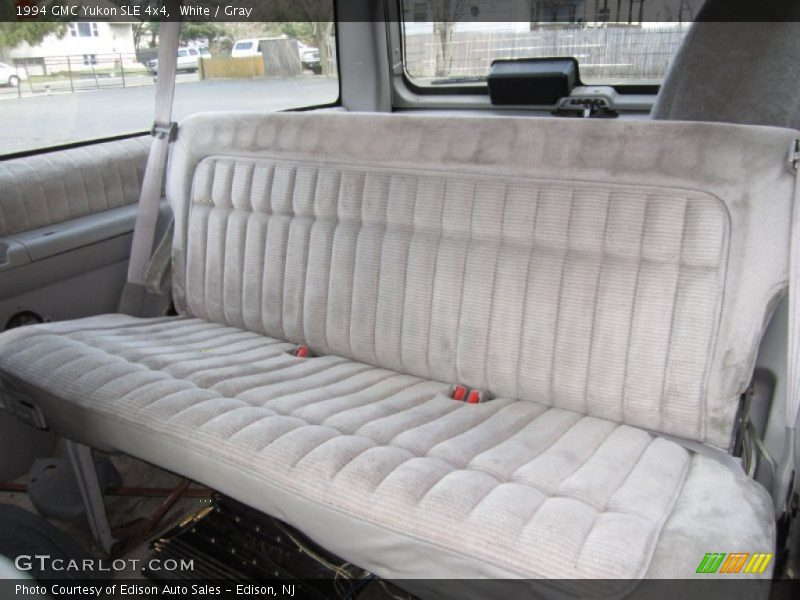 1994 Yukon SLE 4x4 Gray Interior