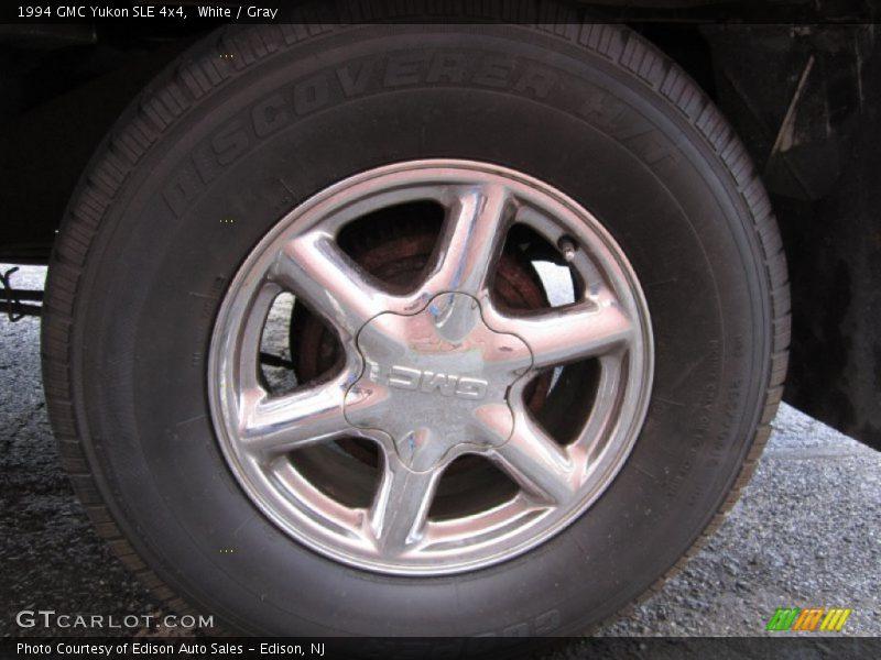 White / Gray 1994 GMC Yukon SLE 4x4