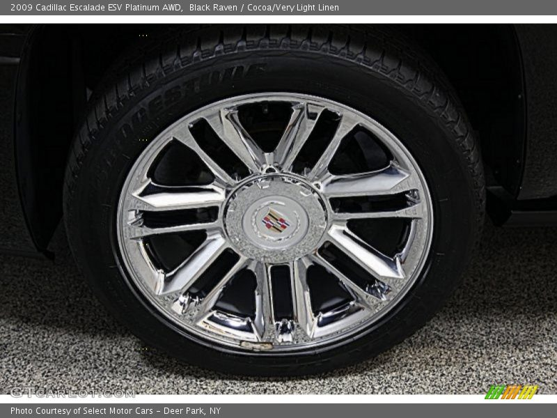 2009 Escalade ESV Platinum AWD Wheel