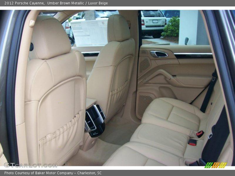 Umber Brown Metallic / Luxor Beige 2012 Porsche Cayenne
