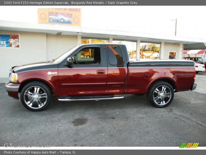 2003 F150 Heritage Edition Supercab Burgundy Red Metallic