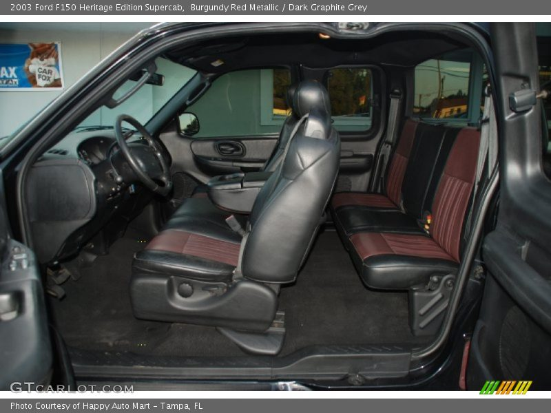 2003 F150 Heritage Edition Supercab Dark Graphite Grey Interior