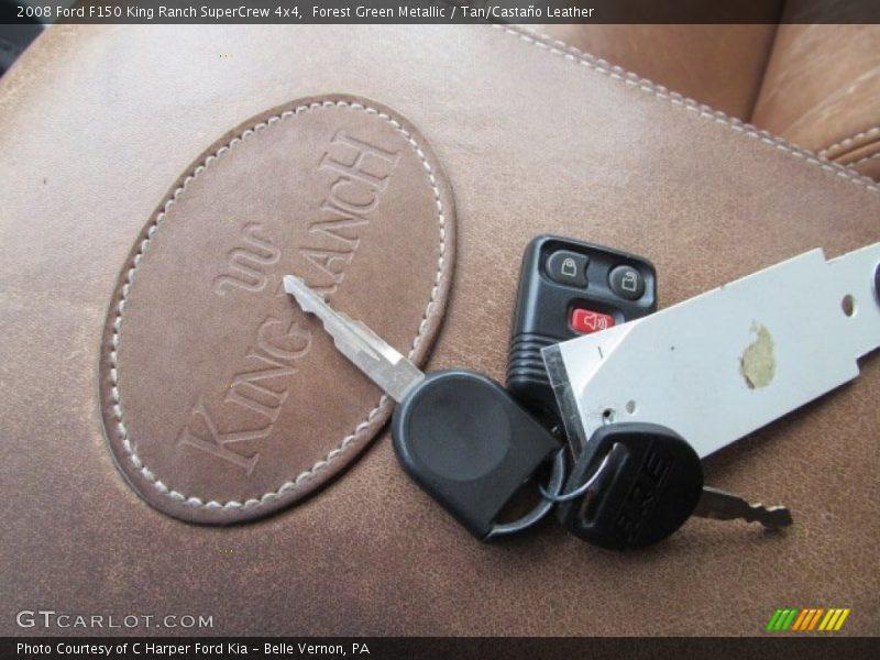 Keys of 2008 F150 King Ranch SuperCrew 4x4