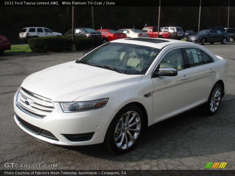 2013 ford taurus limited awd in white platinum tri coat photo no. Cars Review. Best American Auto & Cars Review