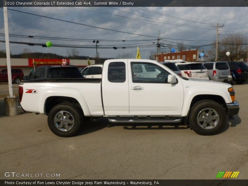 2010 chevrolet colorado lt extended cab 4x4 in summit. Black Bedroom Furniture Sets. Home Design Ideas