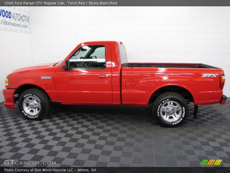 2006 Ford Ranger Stx Regular Cab In Torch Red Photo No