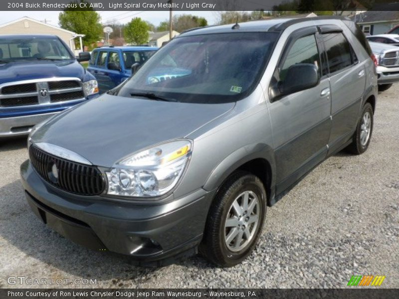 Light Spiral Gray Metallic / Light Gray 2004 Buick Rendezvous CX AWD