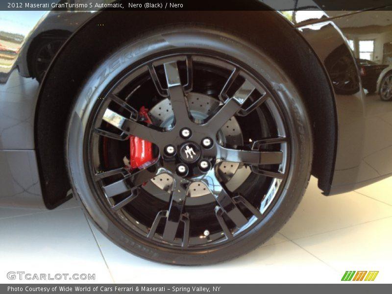 2012 GranTurismo S Automatic Wheel