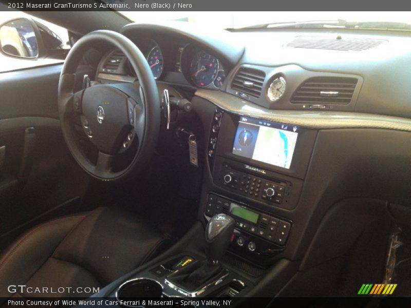 Nero (Black) / Nero 2012 Maserati GranTurismo S Automatic