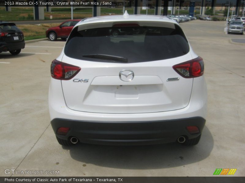Crystal White Pearl Mica / Sand 2013 Mazda CX-5 Touring
